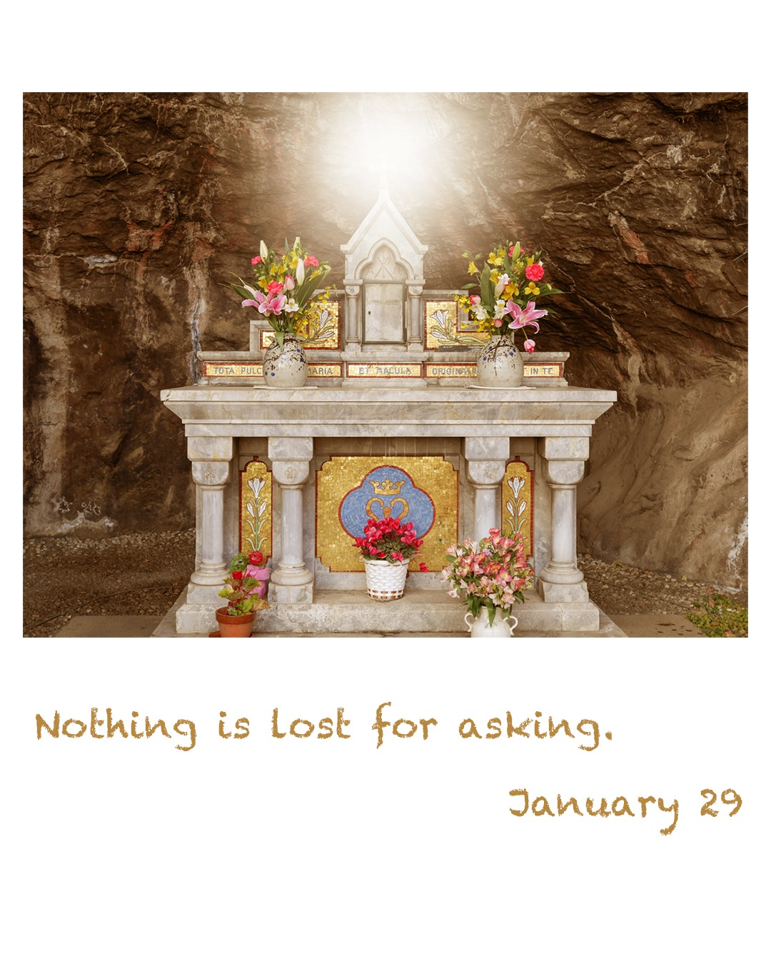 Nothing is lost for asking.