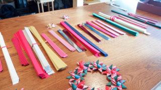 Flying Tiger表参道ストアで、北欧のクリスマスの編み飾りを作りました