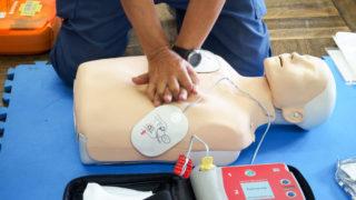 彩の国いきがい大学(8)(9)AEDを使った救命入門と認知症予防の体操を学びました