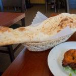 春日部ガネーシャで巨大ナンのスペシャルランチを食べました