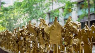 丸の内仲通りで初夏の彫刻を楽しむ