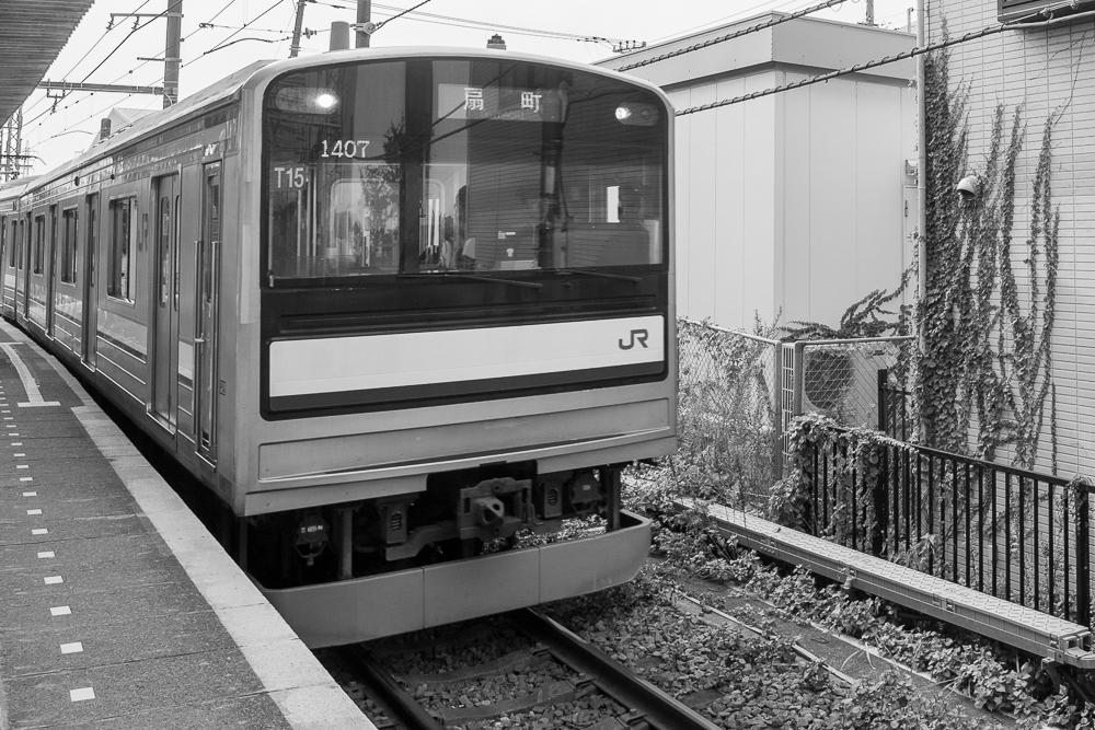 鶴見線安善駅