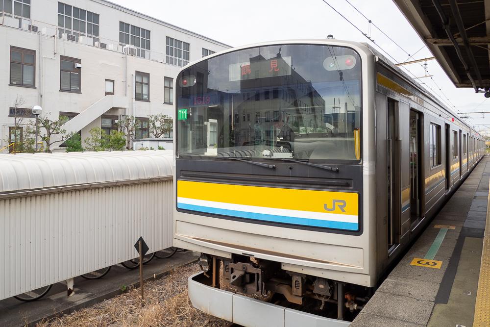 鶴見線海芝浦駅