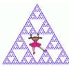 Scratchで作ったシェルピンスキーの三角形をGIFanimationにしました