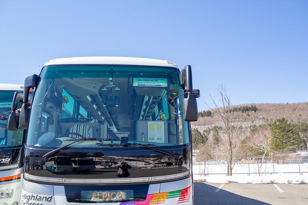縄文トレイルツアーバス