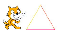 スクラッチ講座<2> 三角形を描こう
