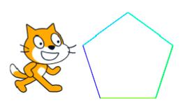スクラッチ講座<3> 外角をヒントに多角形を描こう