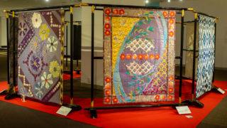 家具とキルトのビューティフル・ハーモニー 匠大塚で和のキルト展開催