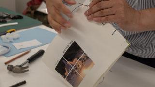 エプサイトフォトセミナーで和綴じ本を作成