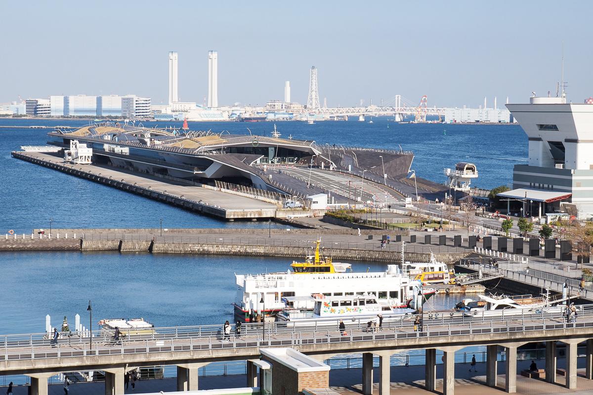 大桟橋全景