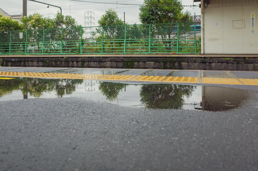 鶴見線武蔵白石駅