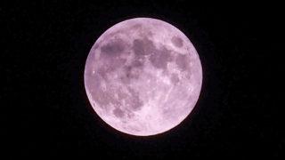 6月の満月ストロベリームーンを撮る